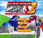 Bomberman Max 2 - Red Advance title screenshot