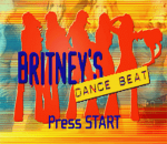 Britney's Dance Beat title screenshot