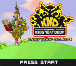 Codename - Kids Next Door - Operation S.O.D.A. title screenshot