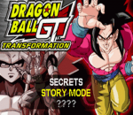 Dragon Ball GT - Transformation title screenshot