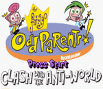 Fairly OddParents!, The - Clash with the Anti-World title screenshot