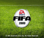 FIFA Soccer 2005 title screenshot