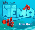 Finding Nemo title screenshot