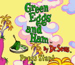 Green Eggs and Ham by Dr. Seuss title screenshot