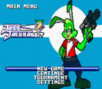 Jazz Jackrabbit title screenshot
