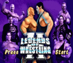 Legends of Wrestling II title screenshot
