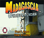 Madagascar - Operation Penguin title screenshot
