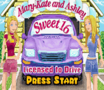 Mary-Kate and Ashley Sweet 16 - Licensed to Drive title screenshot