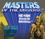 Masters of the Universe He-Man - Power of Grayskull title screenshot