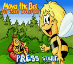 Maya the Bee - The Great Adventure title screenshot