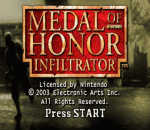Medal of Honor - Infiltrator title screenshot