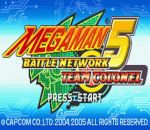 Mega Man Battle Network 5 - Team Colonel title screenshot