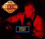 Mike Tyson Boxing title screenshot