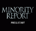 Minority Report - Everybody Runs title screenshot