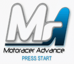 Motoracer Advance title screenshot