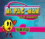 Ms. Pac-Man - Maze Madness title screenshot