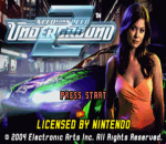 Need for Speed - Underground 2 title screenshot