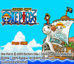 One Piece title screenshot
