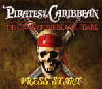 Pirates of the Caribbean - The Curse of the Black Pearl title screenshot