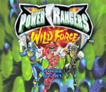 Power Rangers - Wild Force title screenshot