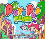 Puyo Pop Fever title screenshot
