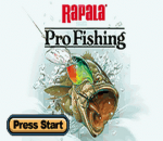 Rapala Pro Fishing title screenshot