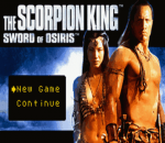 Scorpion King, The - Sword of Osiris title screenshot