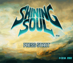 Shining Soul title screenshot