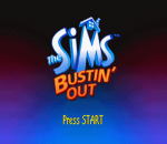 Sims, The - Bustin' Out title screenshot