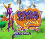 Spyro Orange - The Cortex Conspiracy title screenshot