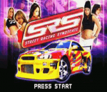 Street Racing Syndicate title screenshot