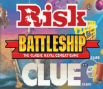 Three-in-One Pack - Risk + Battleship + Clue title screenshot