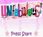 Unfabulous title screenshot
