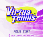 Virtua Tennis title screenshot