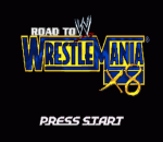 WWE - Road to WrestleMania X8 title screenshot