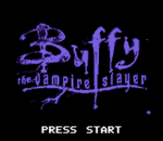 Buffy the Vampire Slayer title screenshot