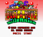 Bust-A-Move Millennium title screenshot