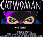 Catwoman title screenshot