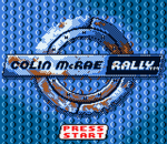 Colin McRae Rally title screenshot
