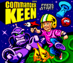 Commander Keen title screenshot