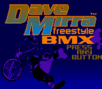 Dave Mirra Freestyle BMX title screenshot