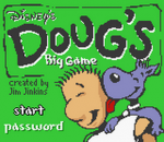 Doug's Big Game title screenshot