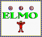 Elmo's ABCs title screenshot