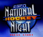 ESPN National Hockey Night title screenshot