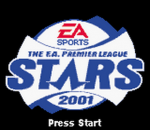 F.A. Premier League Stars 2001, The title screenshot