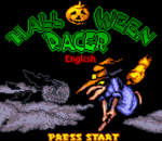 Halloween Racer title screenshot