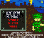 Hands of Time title screenshot