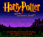 Harry Potter and the Sorcerer's Stone title screenshot