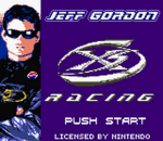 Jeff Gordon XS Racing title screenshot