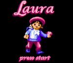 Laura title screenshot